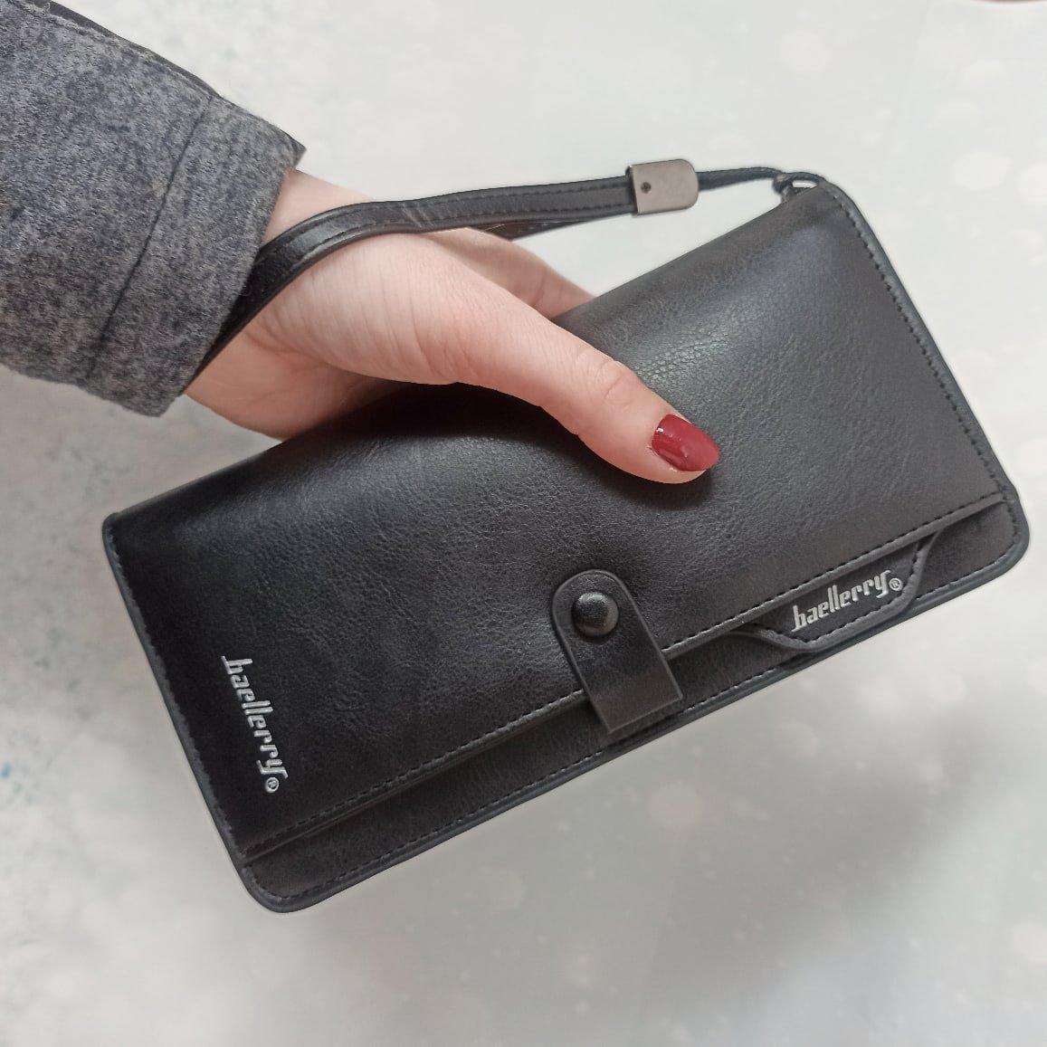 Практичный и вместительный кошелёк Baellerry - обзор