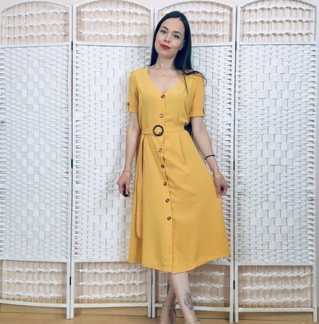 Платье халатик из miss moly Trendy Store - характеристики