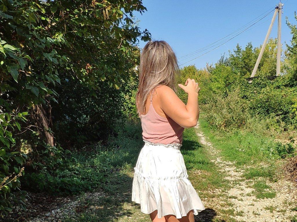 Летняя воздушная юбка AOEMQ - Лето
