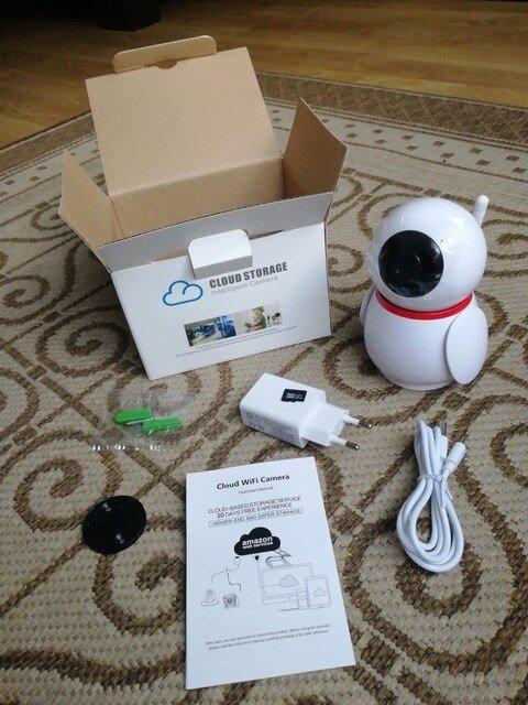 Wi-Fi камера для самых любопытных - обзор