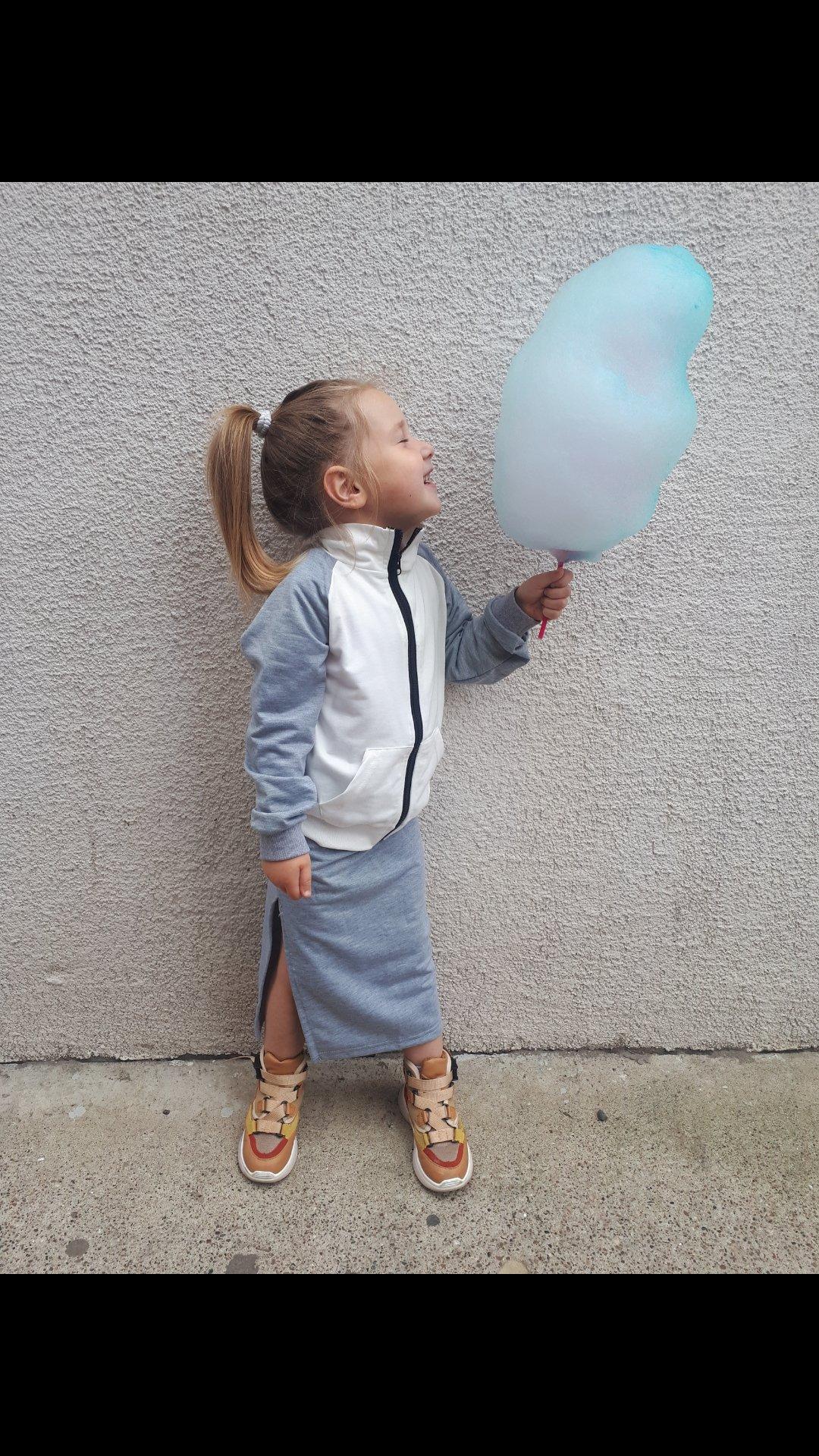Классный спортивный костюм с юбочкой на осень для девочек 3-6 лет с Алиэкспресс - отзывы