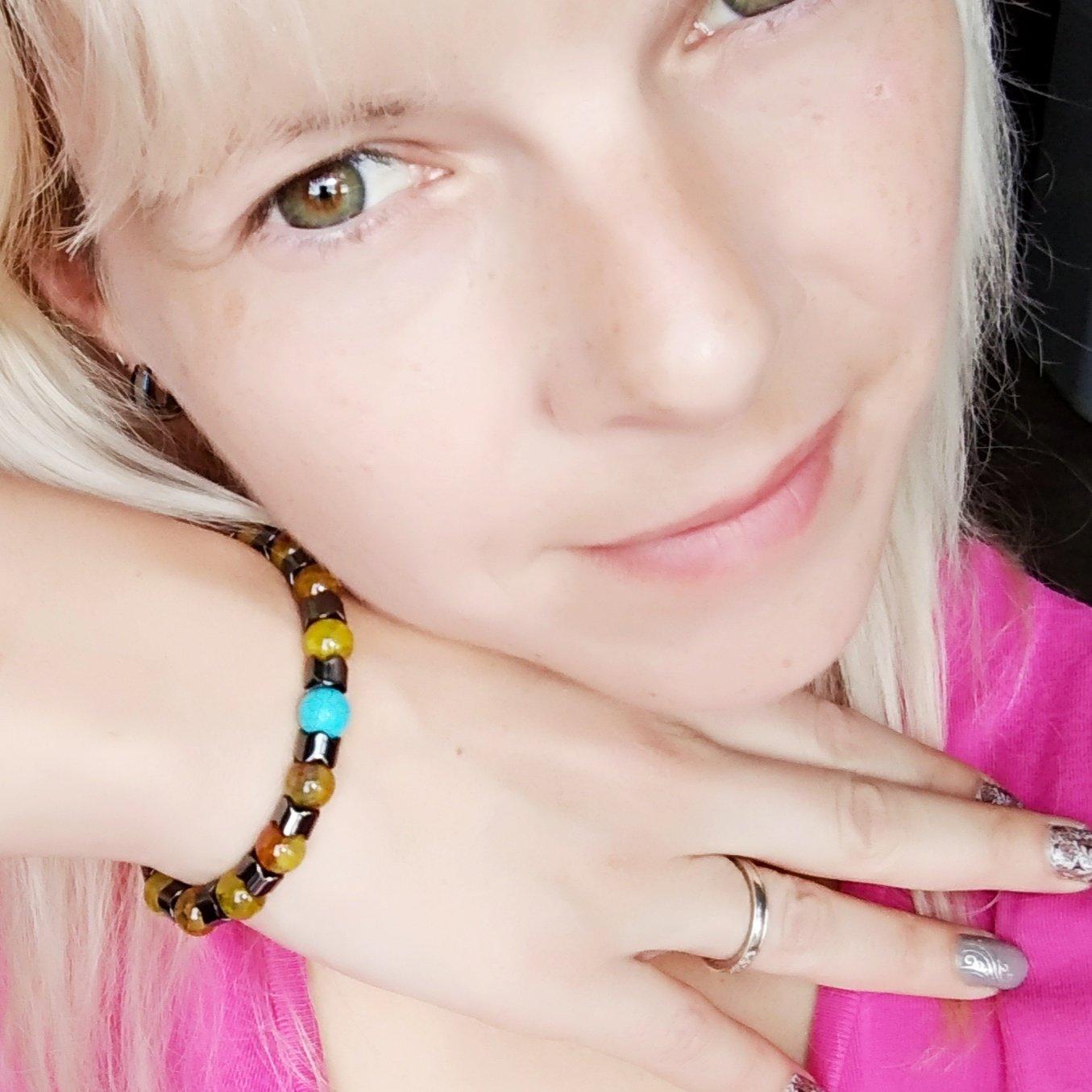 Гематитовый браслет из магазина AODUOLA Official Store - отзывы
