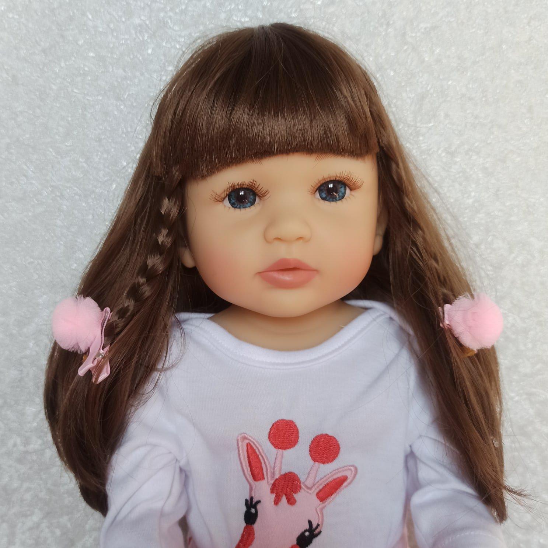 Красивая реалистичная кукла бренда NPK - обзор