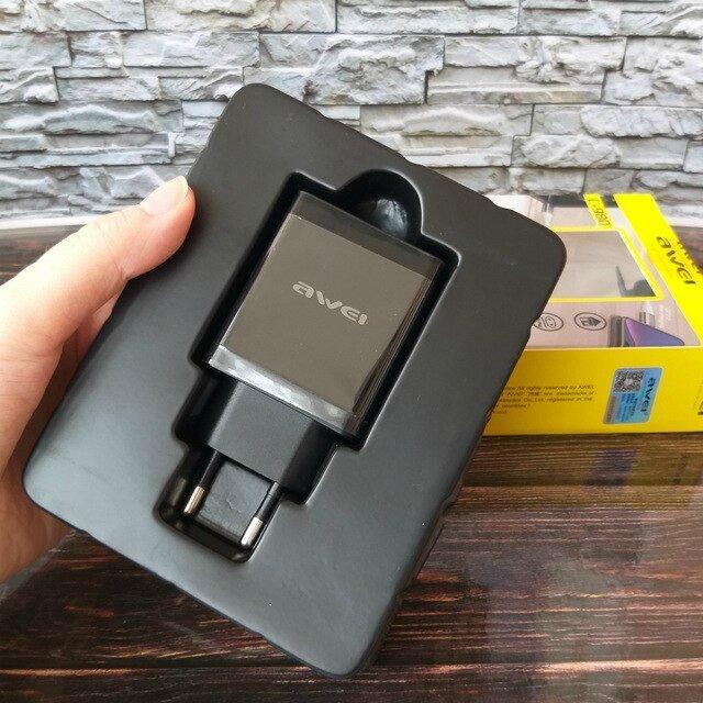 AWEI C-980 зарядное устройство 18 Вт. Поддерживает быструю зарядку. - купить