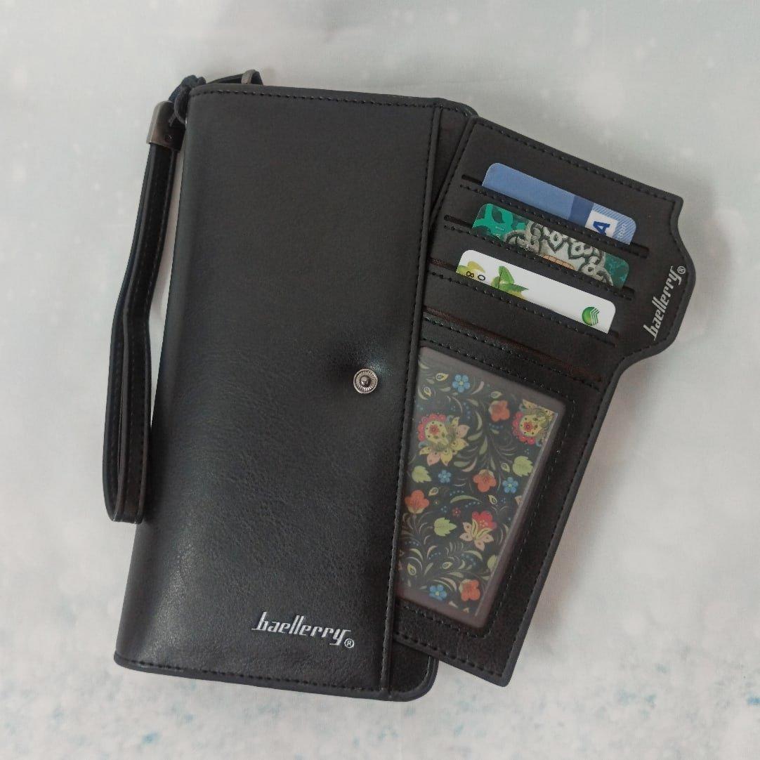 Практичный и вместительный кошелёк Baellerry - Алиэкспресс