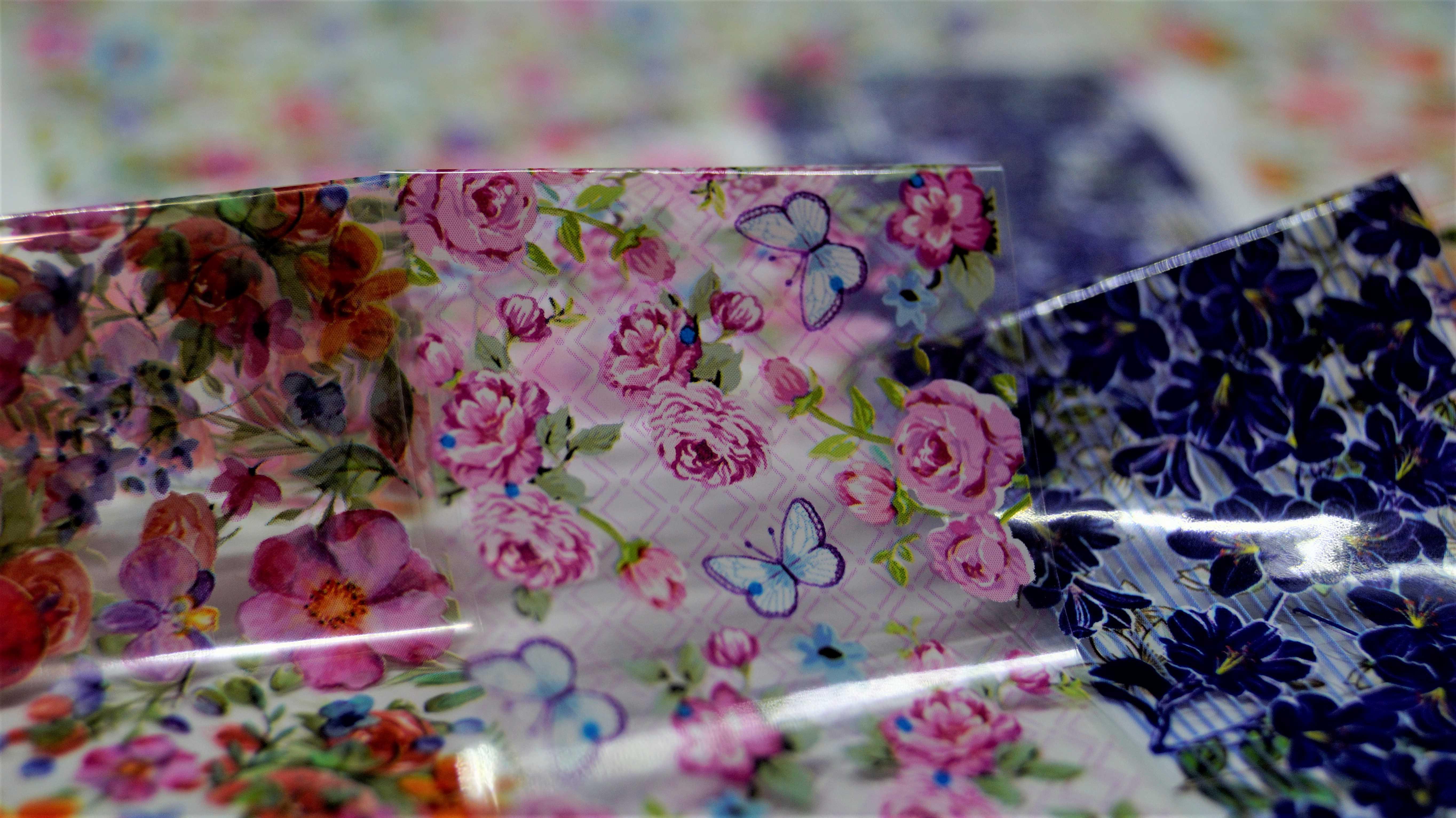 Красивые цветочные наклейки для ногтей - цена