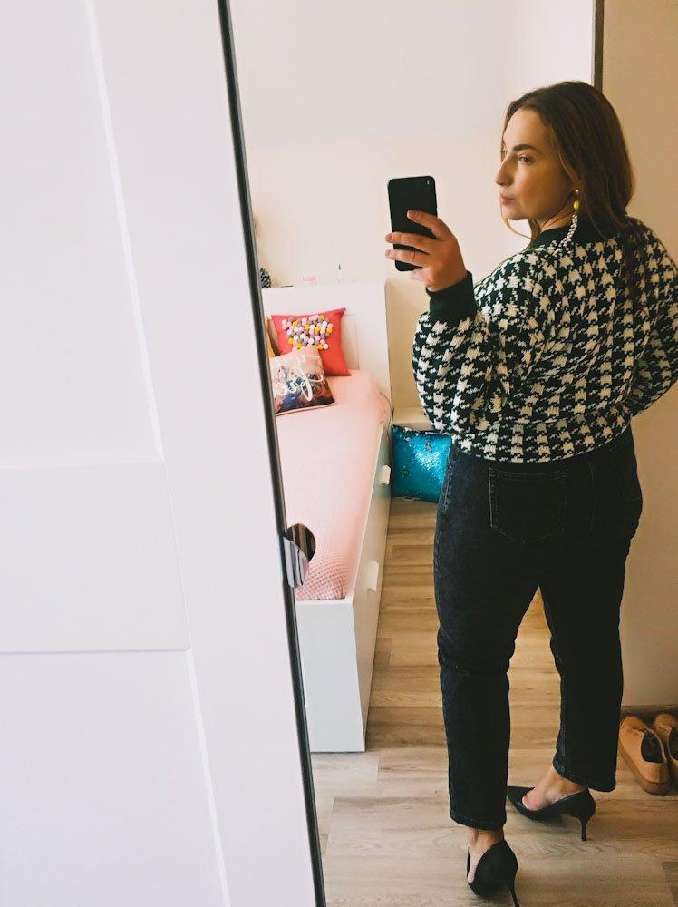 Стильный свитер Sams Tree. Обзор с моими реальными фото. - купить