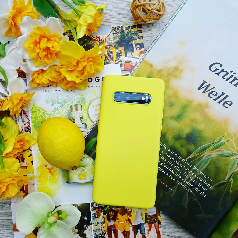 Силиконовый чехол на Samsung цвета солнца - купить
