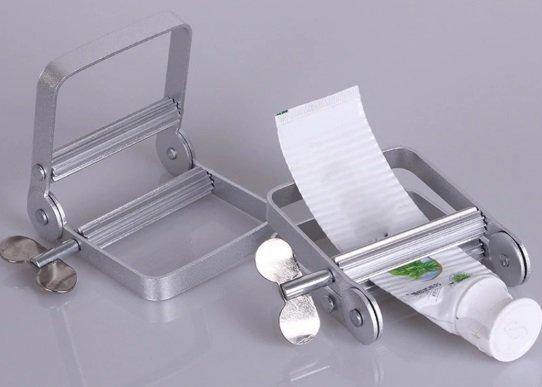 Пресс для тюбика зубной пасты металлический