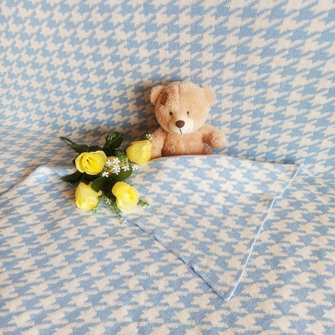 Обзор на хлопковое одеяло с интересным принтом - обзор