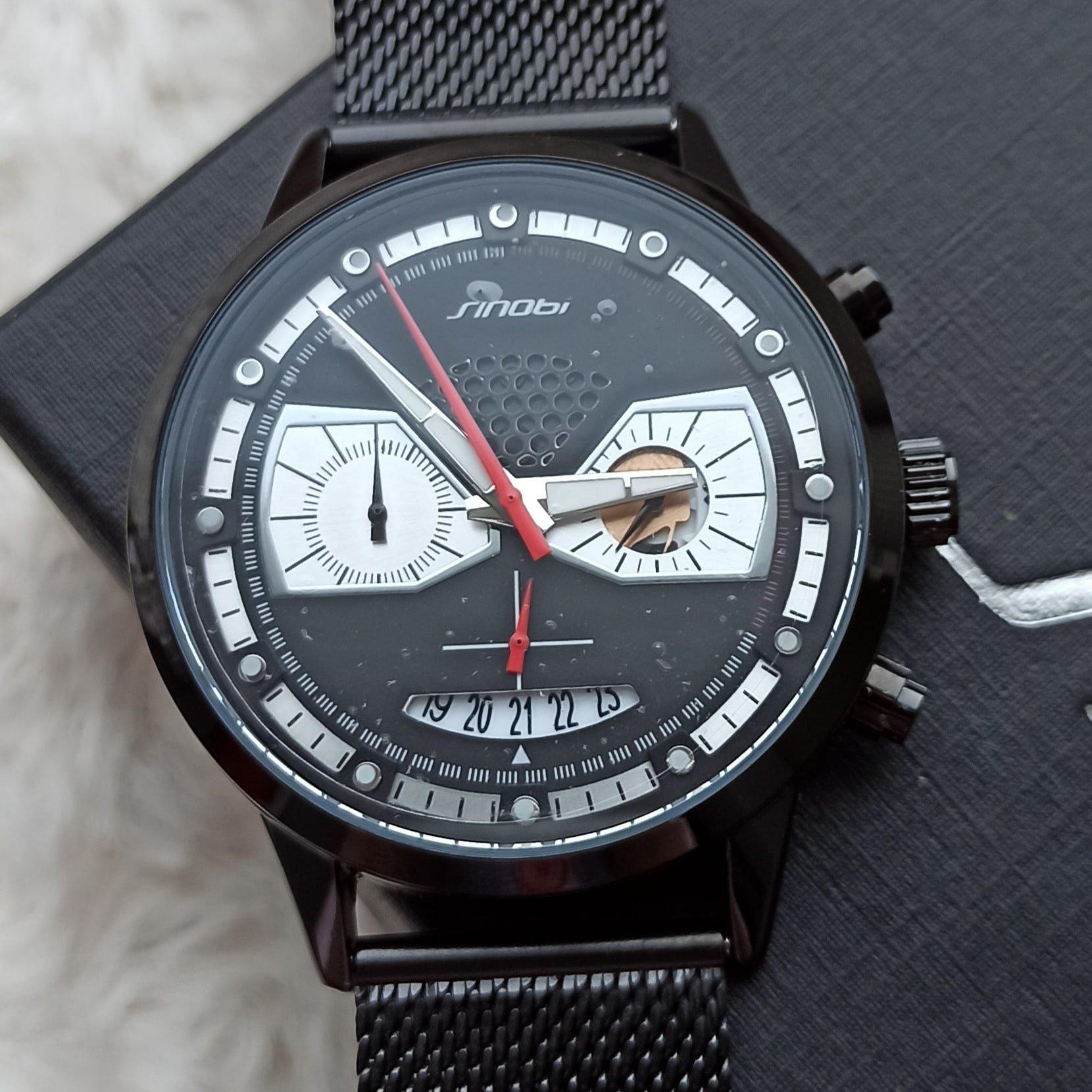 Классные мужские часы от SINOBI - купить