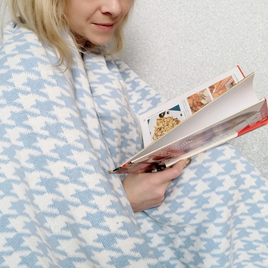 Обзор на хлопковое одеяло с интересным принтом - характеристики