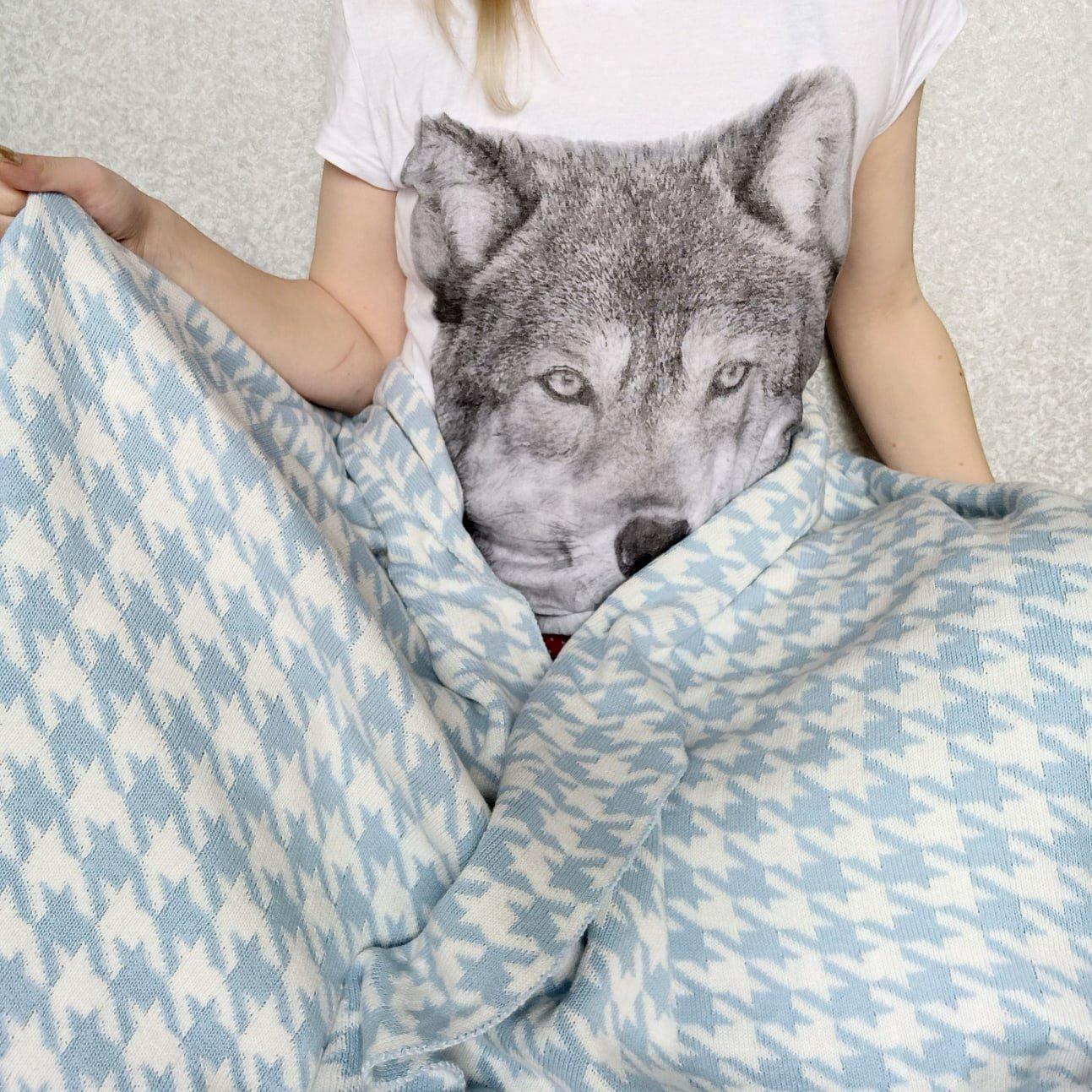 Обзор на хлопковое одеяло с интересным принтом - отзывы