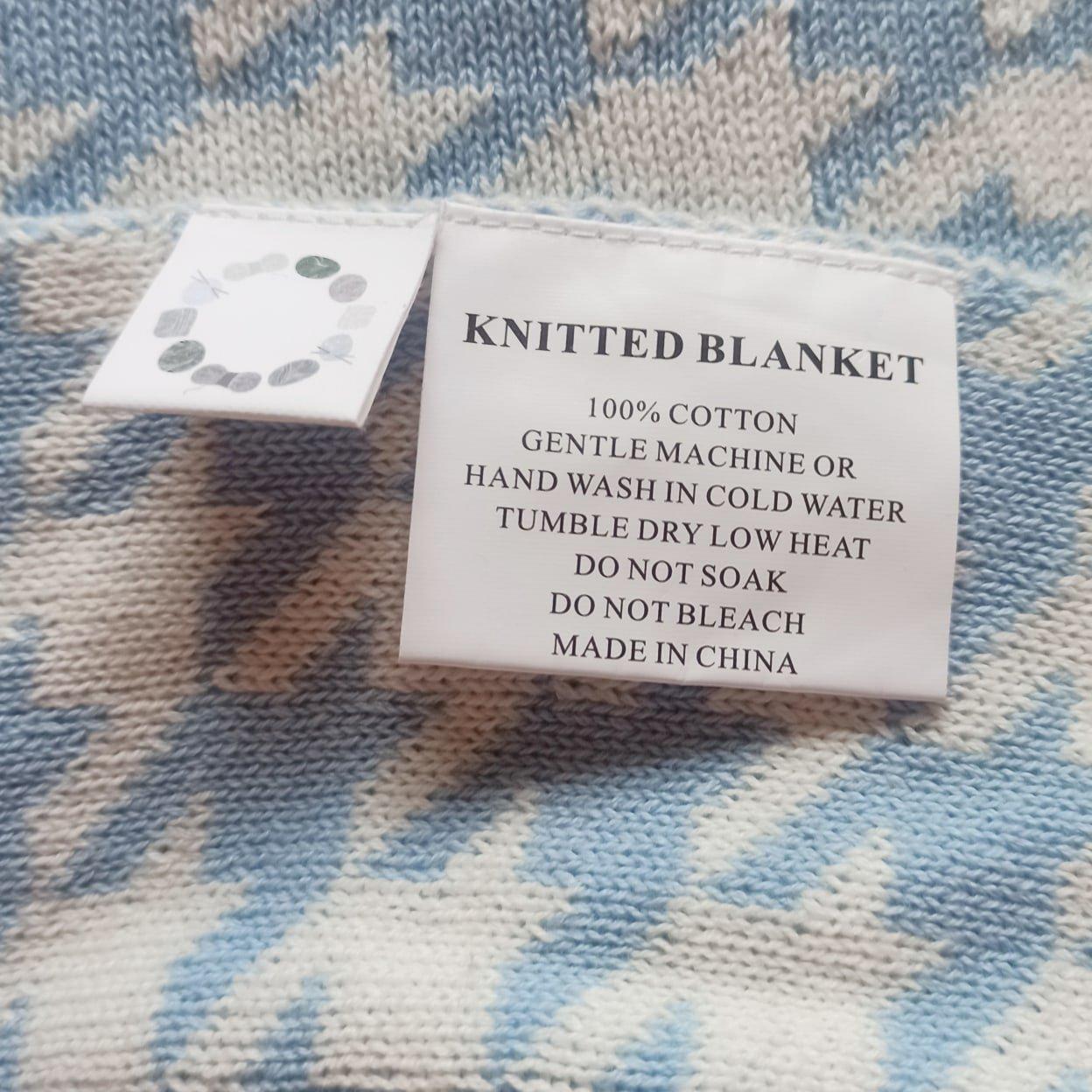 Обзор на хлопковое одеяло с интересным принтом - цена