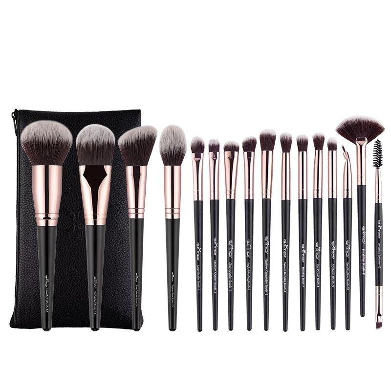 Кисти для макияжа Anmor  Набор из 16 штук - отзывы