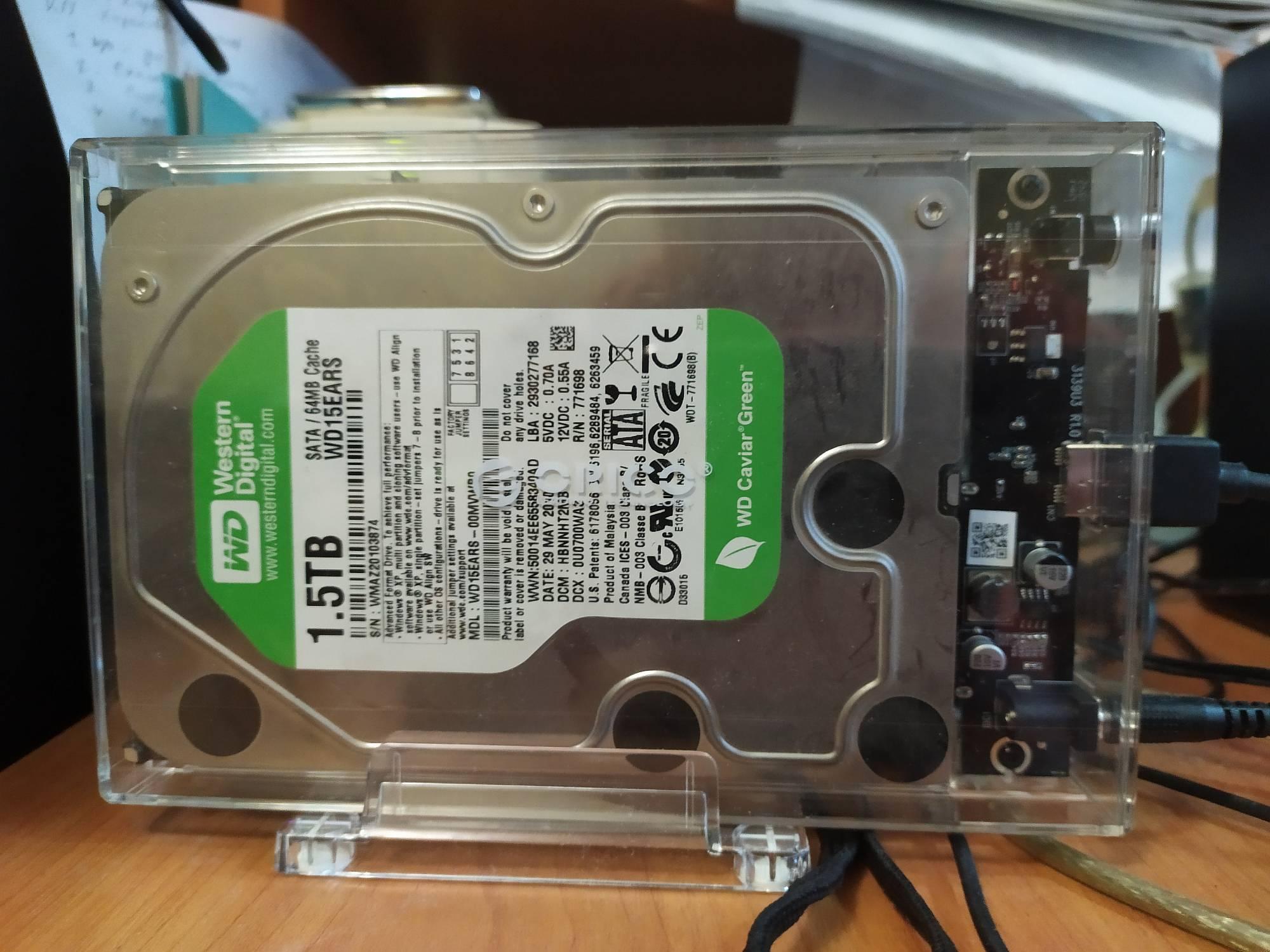 Корпус жесткого диска ORICO SATA на USB3.0 - обзор