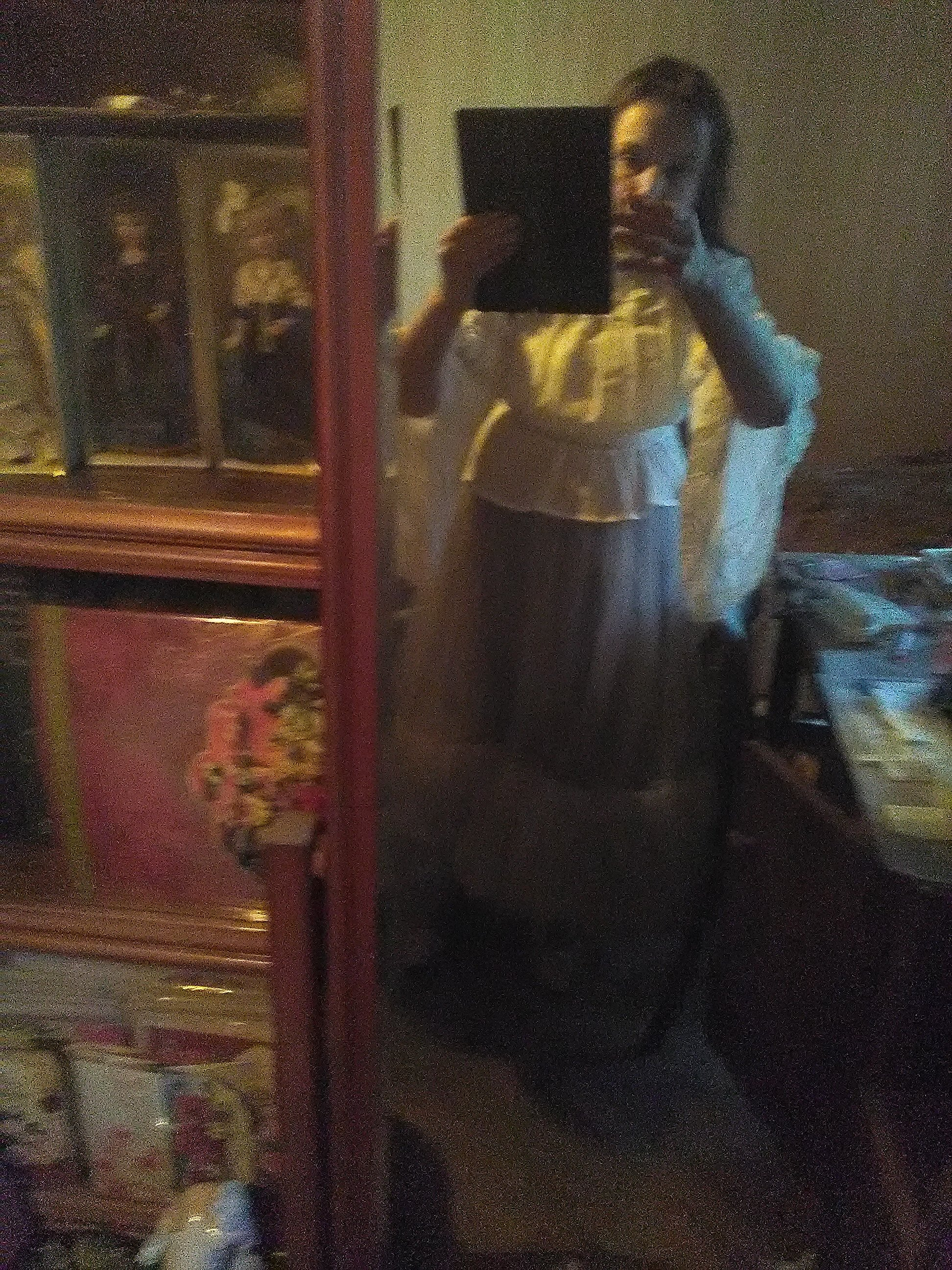 Белая шифоновая блуза с широкими рукавами и кружевом в венецианском стиле от LoliGals Lolita Store. - купить