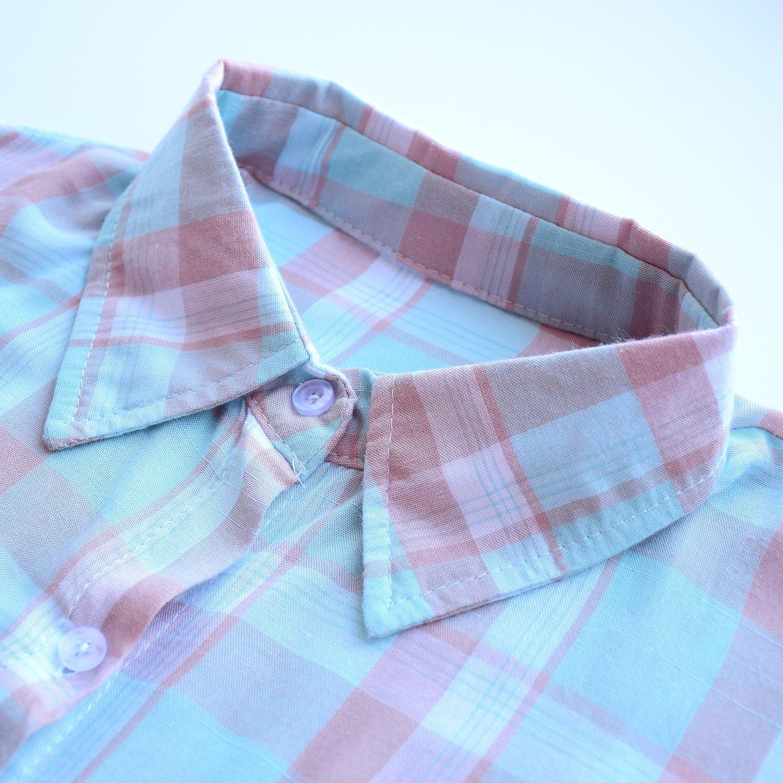 Рубашка в клетку с AliExpress - фото
