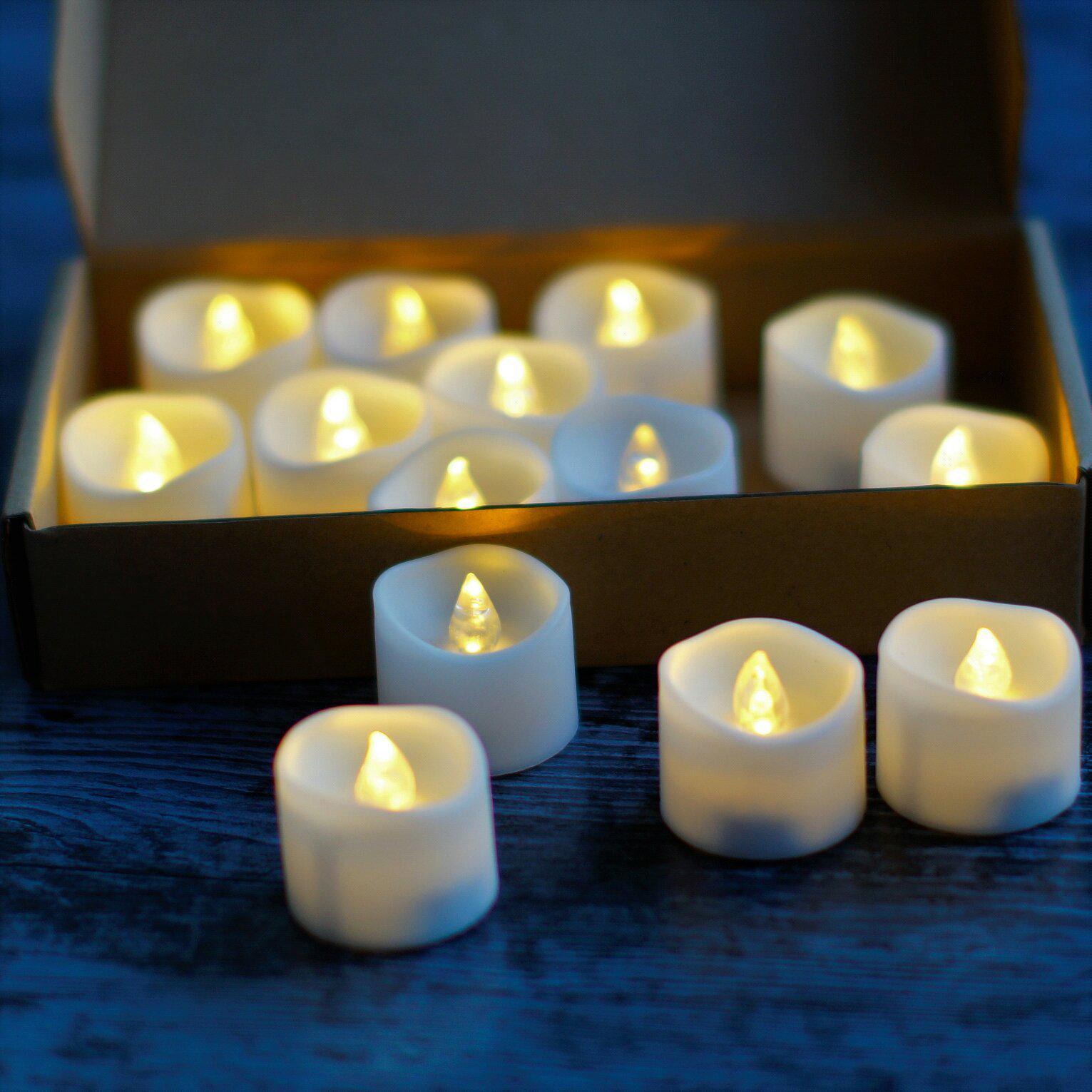 Светодиодные свечи на батарейках - CR 2032 - купить