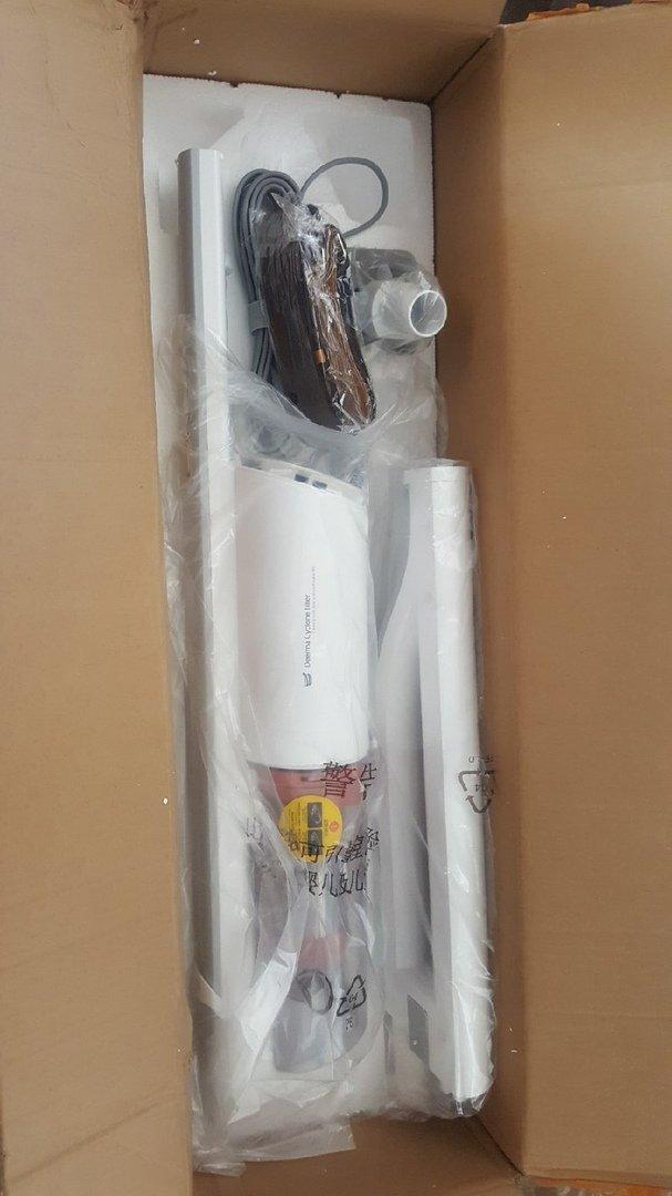 Вертикальный пылесос Xiaomi Deerma Handheld Vacuum Cleaner DX800s. - электроника