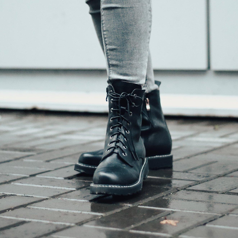 Ботинки из натуральной кожи - инструкция
