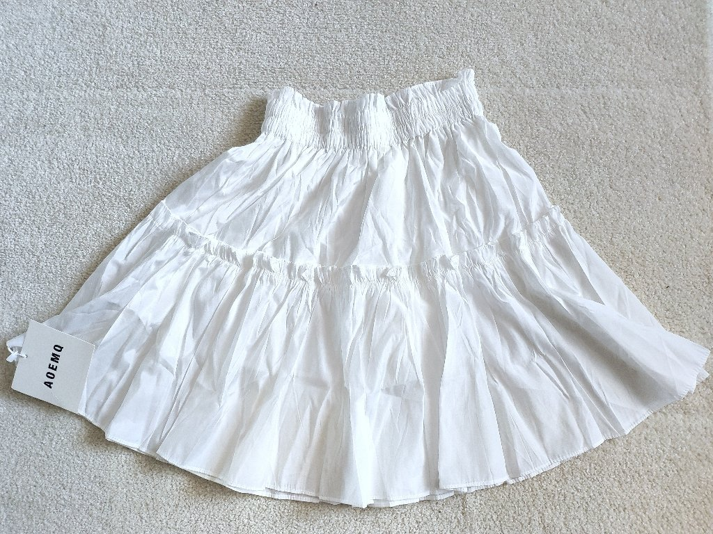 Летняя воздушная юбка AOEMQ - цена
