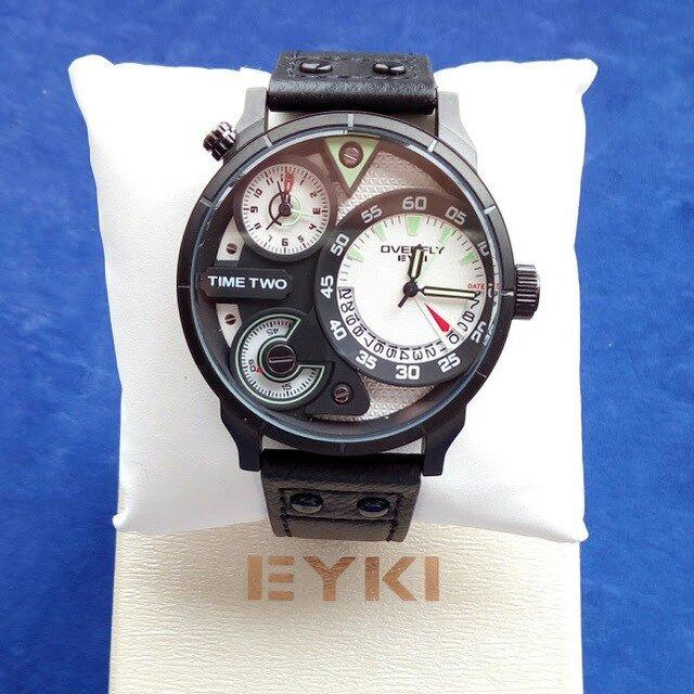 EYKI Кварцевые наручные часы для мужчин - обзор