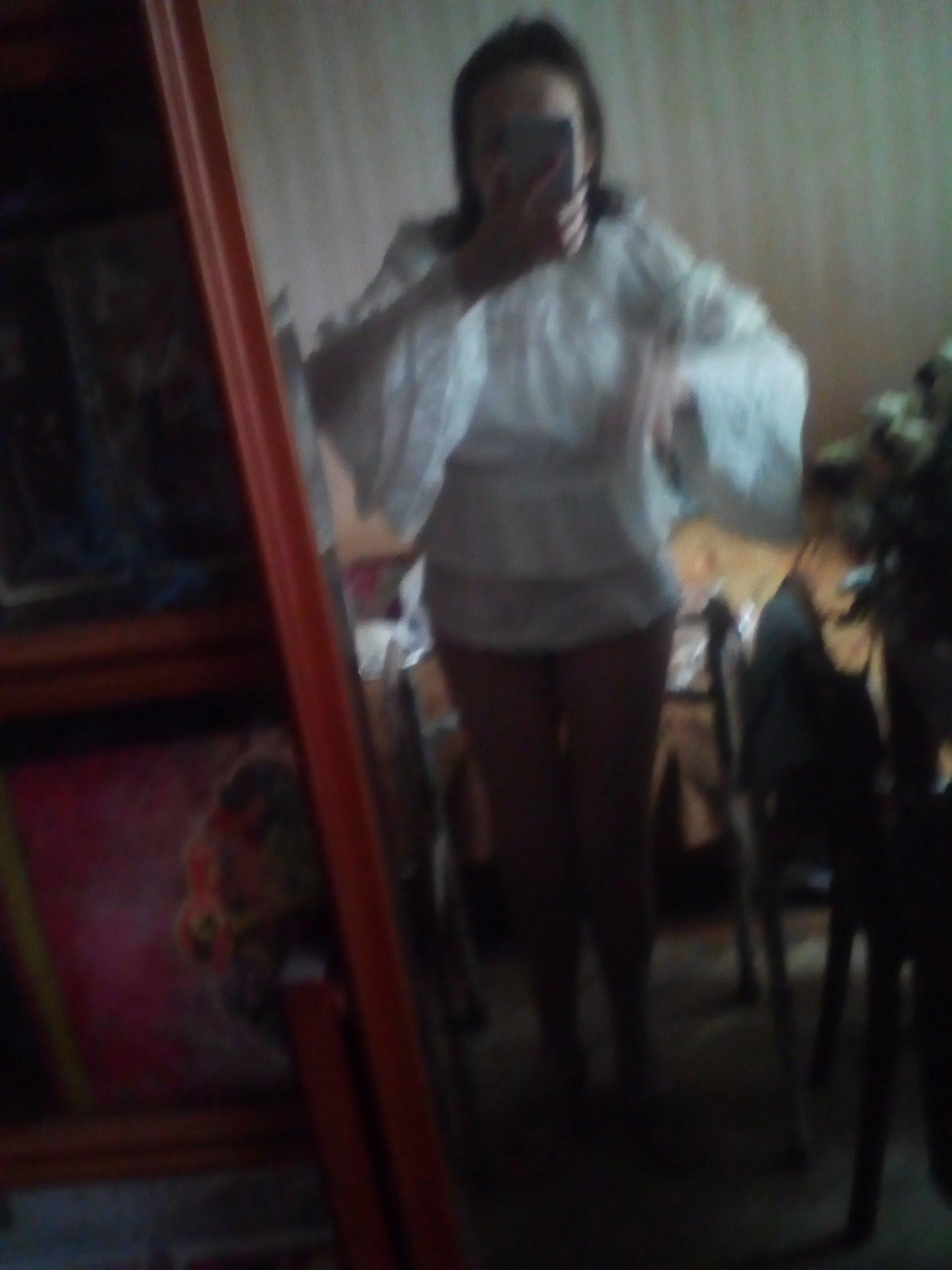 Белая шифоновая блуза с широкими рукавами и кружевом в венецианском стиле от LoliGals Lolita Store. - характеристики