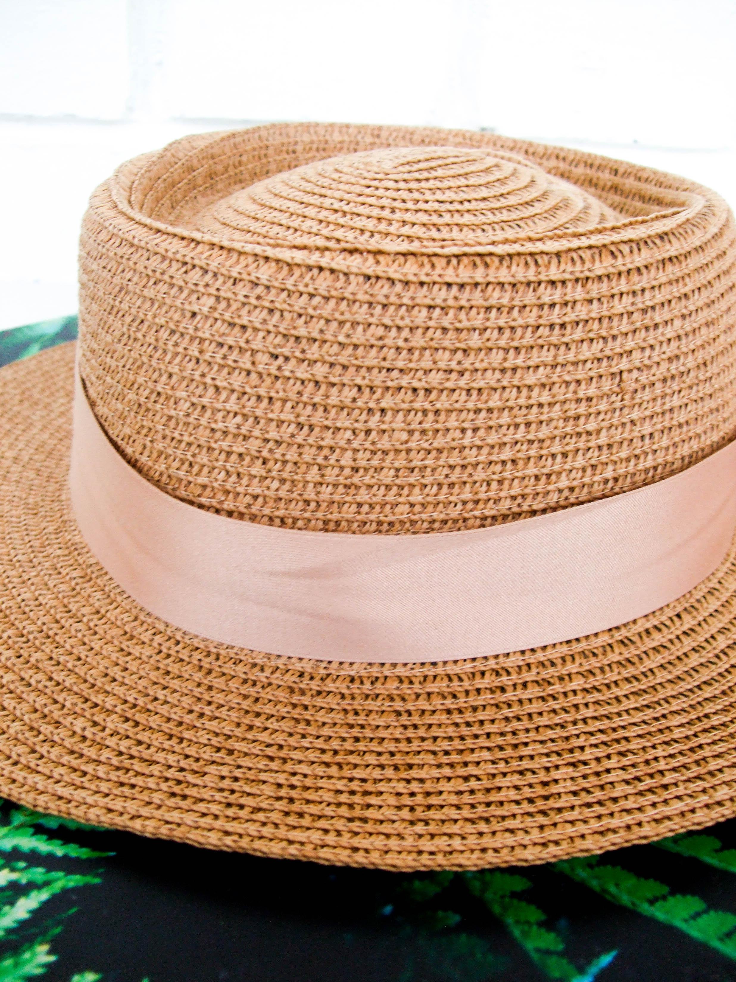 Шляпка с люверсами, которая очень понравилась - цена