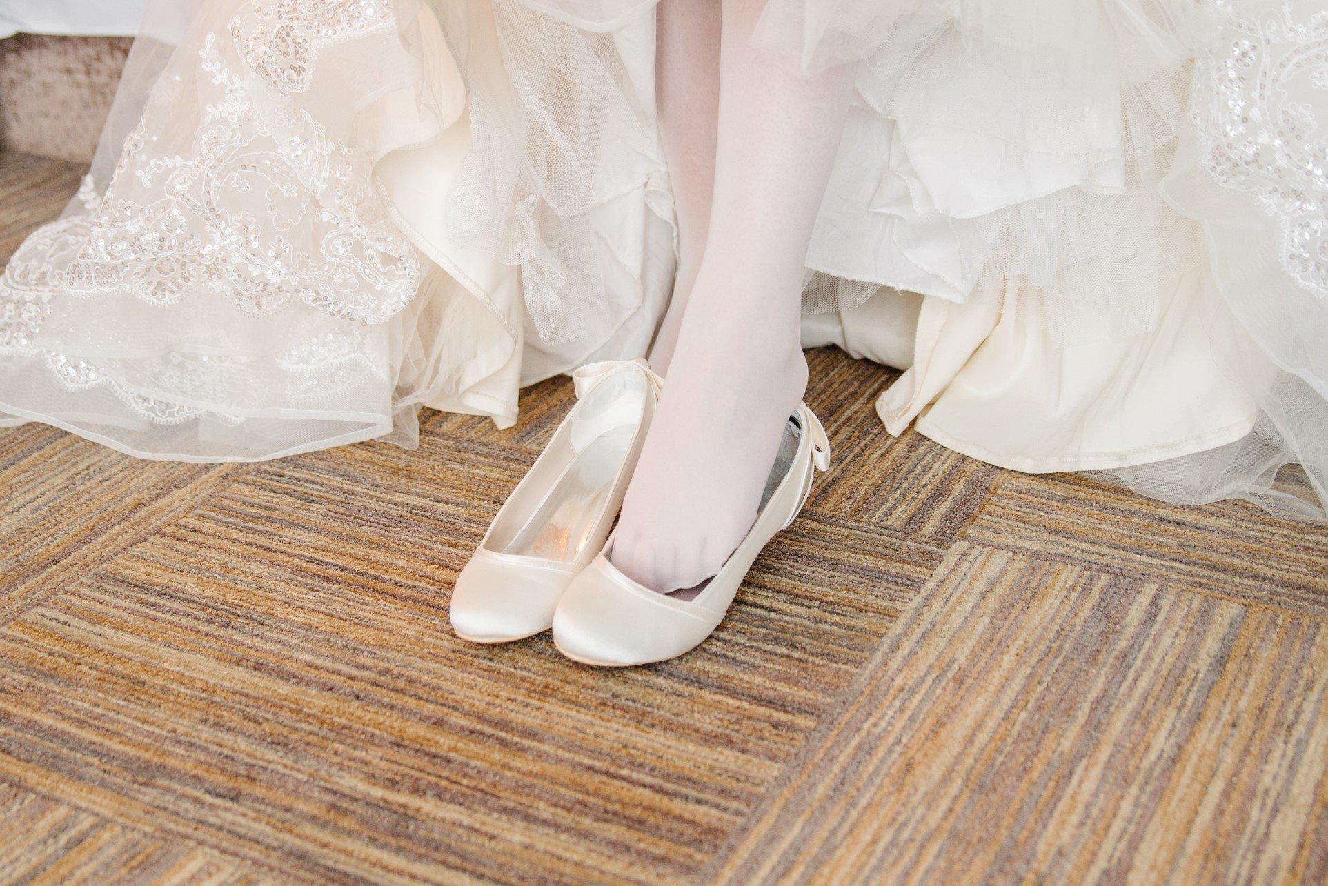 Идеальные свадебные туфли от бренда