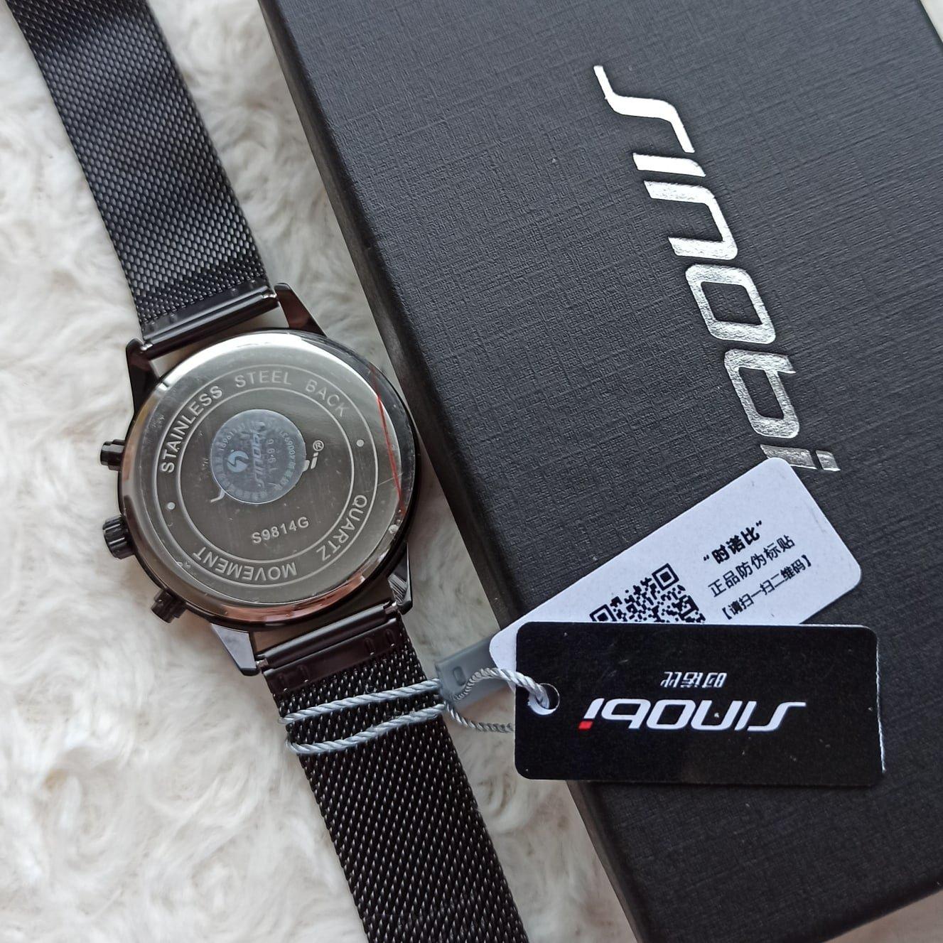 Классные мужские часы от SINOBI - обзор