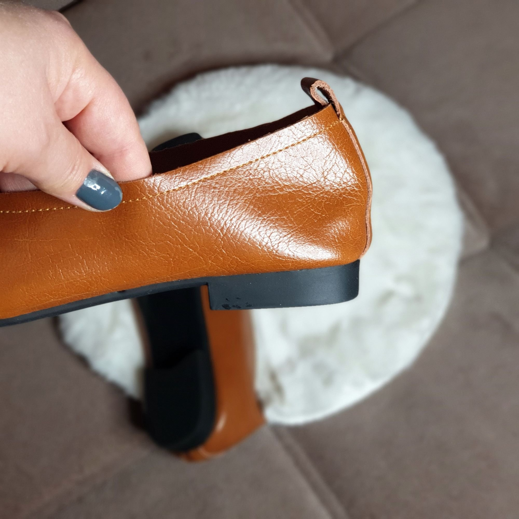 Отличные кожаные туфли на каждый день: распаковка и примерка. - обзор