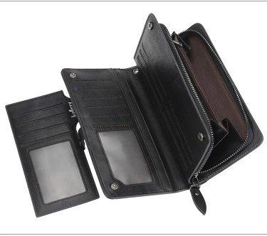 Практичный и вместительный кошелёк Baellerry - aliexpress