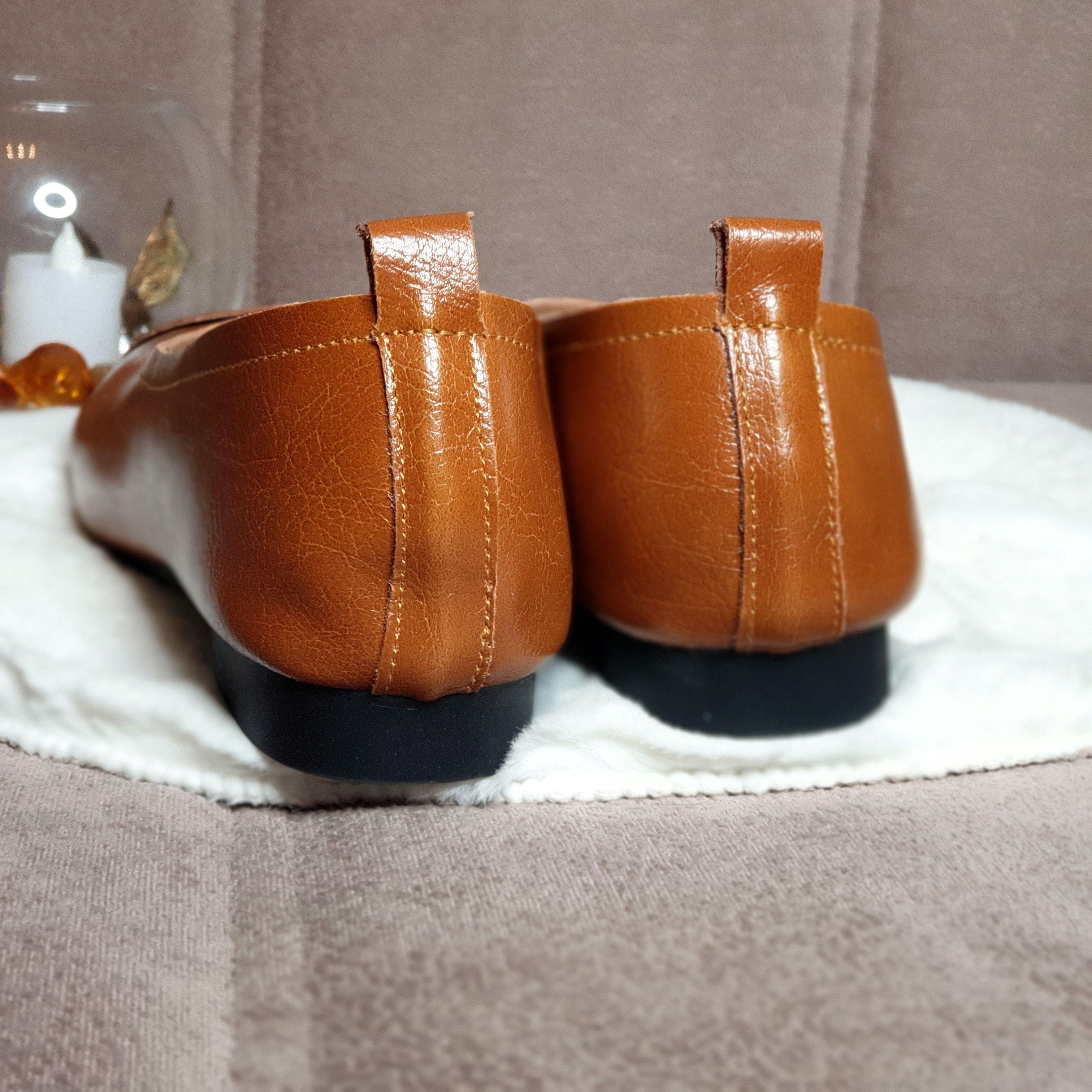 Отличные кожаные туфли на каждый день: распаковка и примерка. - цена
