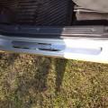 Красивые автомобильные накладки на пороги из стали