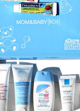 Коробочка с детскими товарами Baby Box