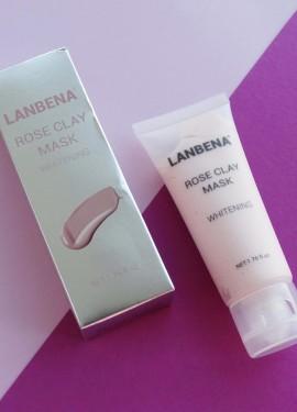 Маска для лица Lanbena отбеливающая с глиной и экстрактом розы. Осветлит ли маска пост-акне?