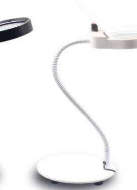 Настольная лампа-лупа с подсветкой