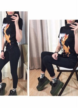 джинсовые леггинсы BIVIGAOS