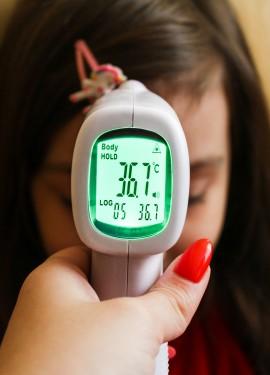 Универсальный бесконтактный ИК-термометр OPHAX