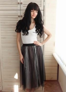 Крутая юбка YANMUXI