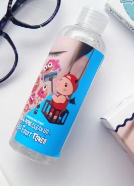 Пилинг-тонер с фруктовыми кислотами ELIZAVECCA Hell-Pore Clean Up AHA Fruit Toner
