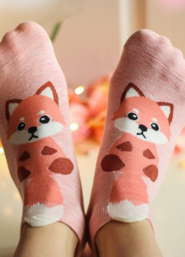 Милые носочки лисички