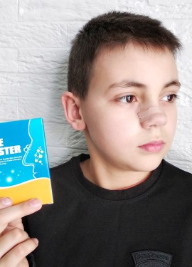 Лечебные патчи от заложенности носа и храпа бренда Sumifun