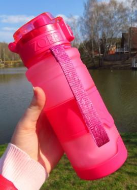 Качественная и очень удобная спортивная бутылка для воды от бренда ZORRI