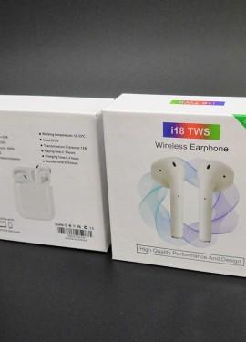 AirPods 2 ТОПОВЫЕ НАУШНИКИ i18 TWS Беспроводная Bluetooth Гарнитура