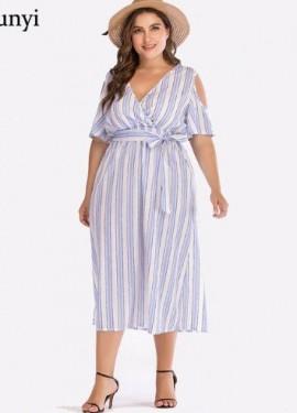Классное платье plus-size