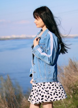 Крутая джинсовая куртка TongLord