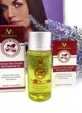 Укрепляющее масло против выпадения волос и для усиления их роста
