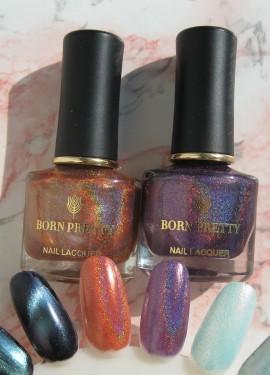Волшебные лаки Born Pretty меняющие цвет.